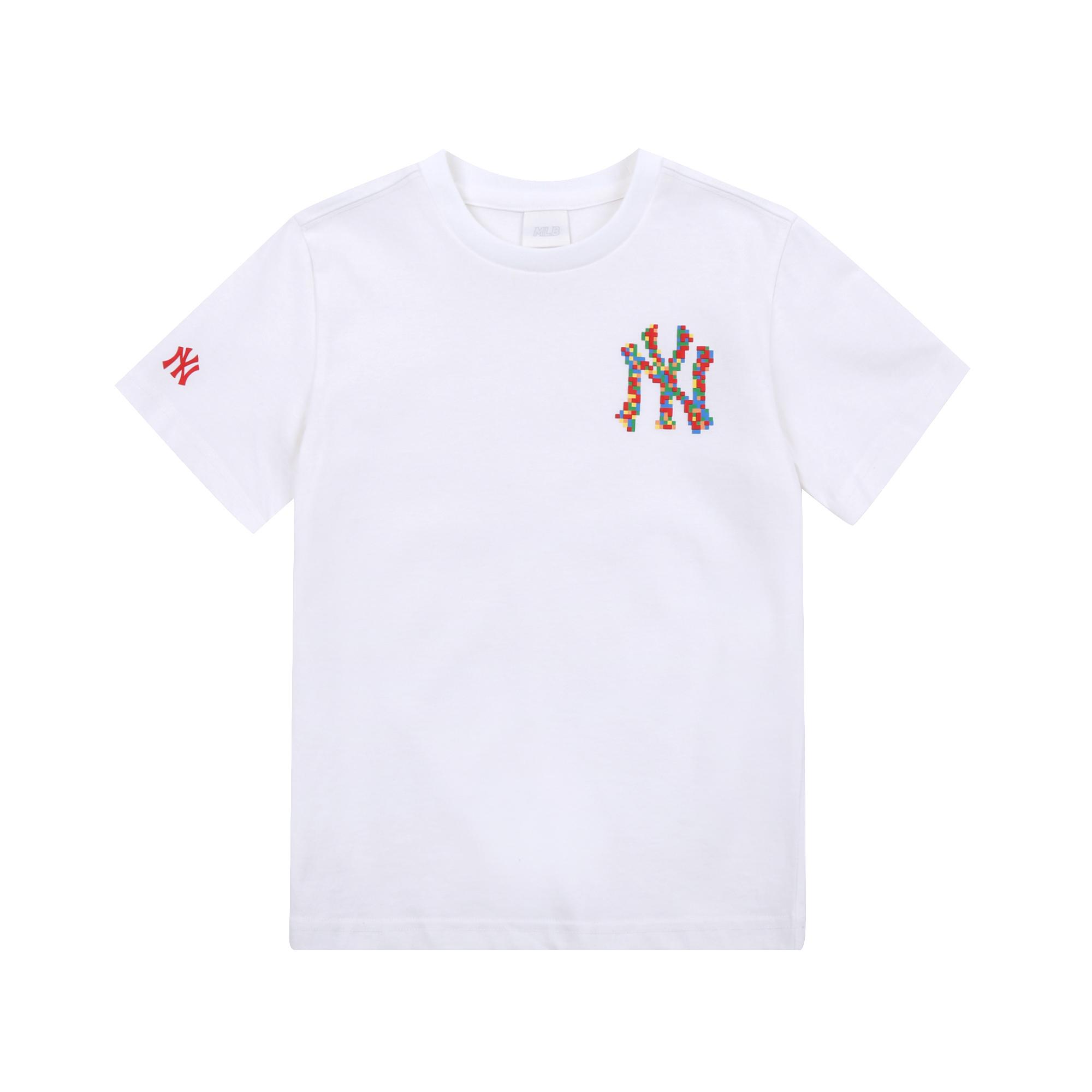 PLAY MLB 픽셀 로고 티셔츠 뉴욕양키스