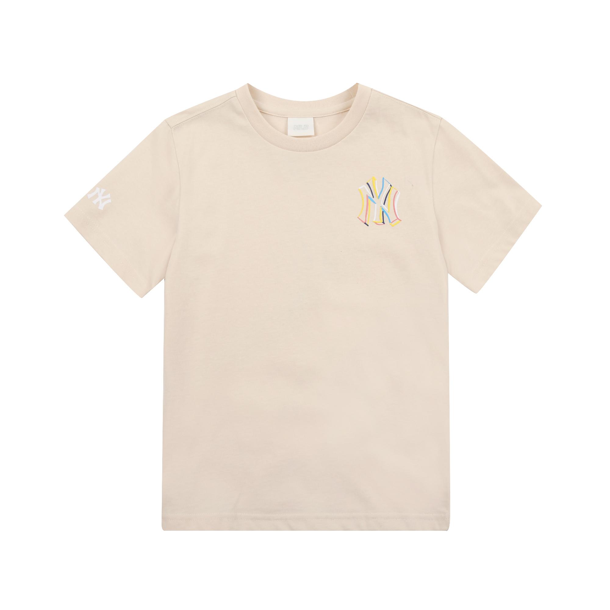 SEAM BALL 멀티 크레용 티셔츠 뉴욕양키스