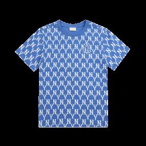 패밀리 모노그램 전판 티셔츠 뉴욕양키스
