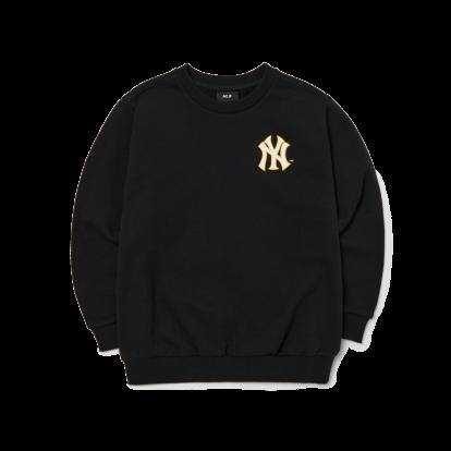 MLB x Disney 도날드덕 백 프린트 기모 맨투맨 뉴욕양키스