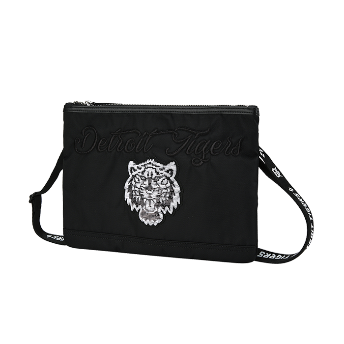 DETROIT TIGERS TIGER EMBROIDERY CROSS BAG