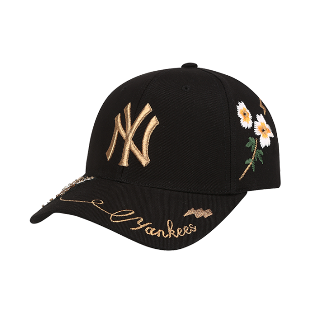 NEW YORK YANKEES GOLD BEE ADJUSTABLE HAT