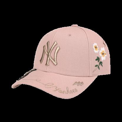 NEW YORK YANKEES GOLD BEE ADJUSTABLE HAT