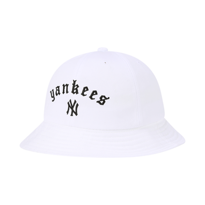 NEW YORK YANKEES STREET GOTHIC WORDING DOME HAT