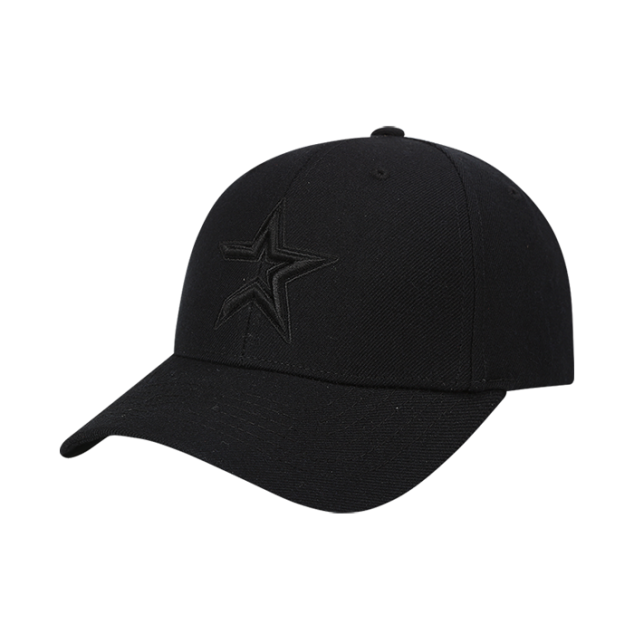 HOUSTON ASTROS ONE POINT LOGO ADJUSTABLE HAT