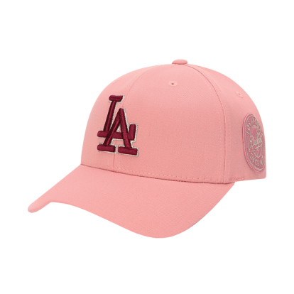 LA DODGERS CIRCLE CURVED CAP
