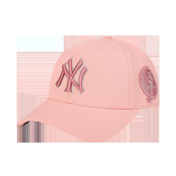 NEW YORK YANKEES CIRCLE CURVED CAP