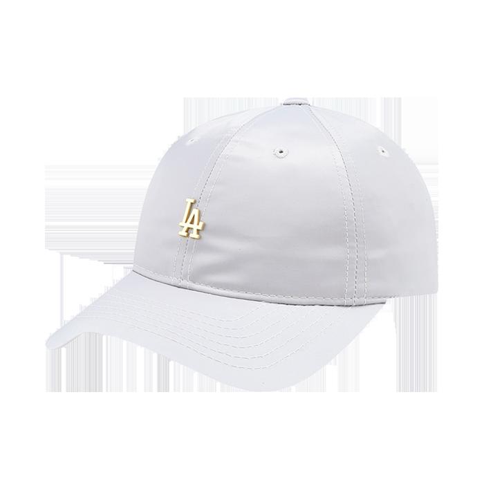 LA DODGERS SMALL METAL LOGO BALL CAP