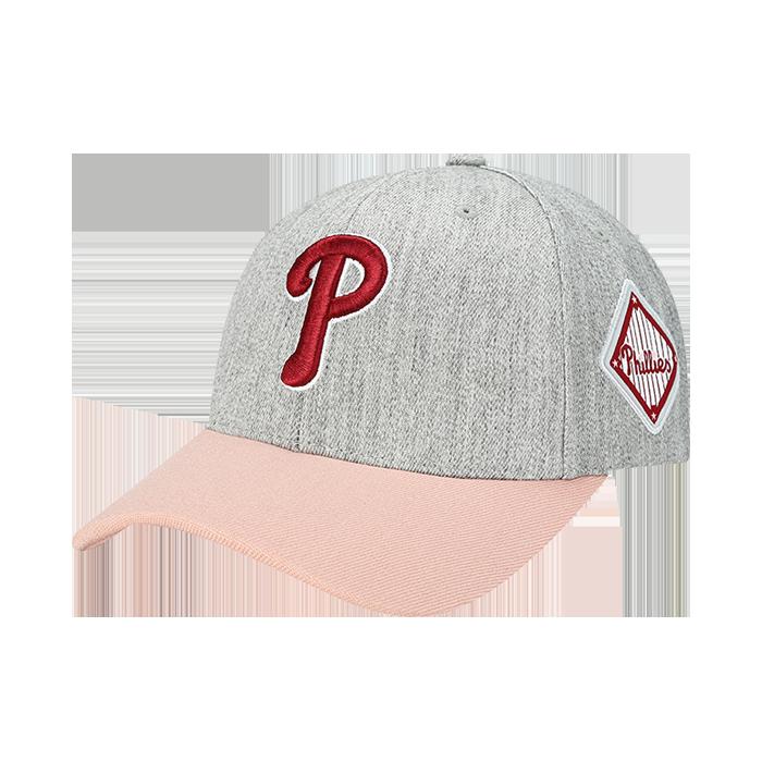 PHILADELPHIA PHILLIES DIAMOND ADJUSTABLE HAT