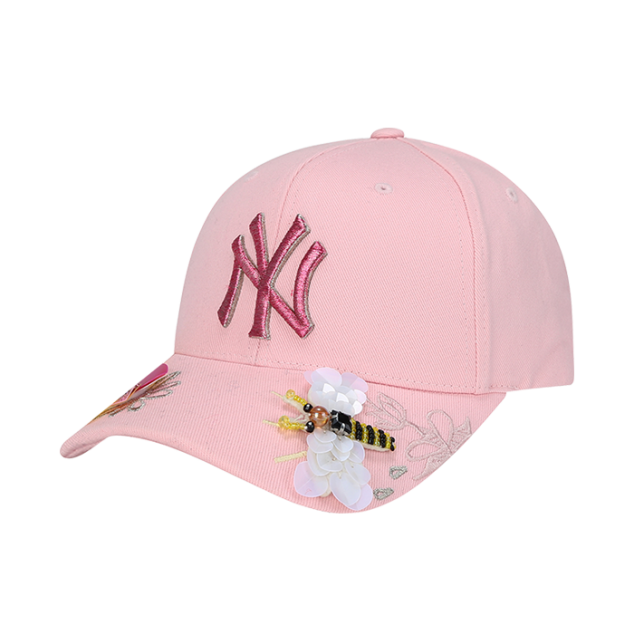NEW YORK YANKEES KITSCH FLOWER ADJUSTABLE HAT