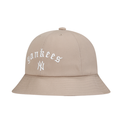 NEW YORK YANKEES STREET GOTHIC WORDING SOLID DOME HAT