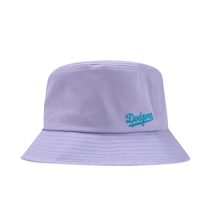 LA DODGERS SMALL CURSIVE BUCKET HAT