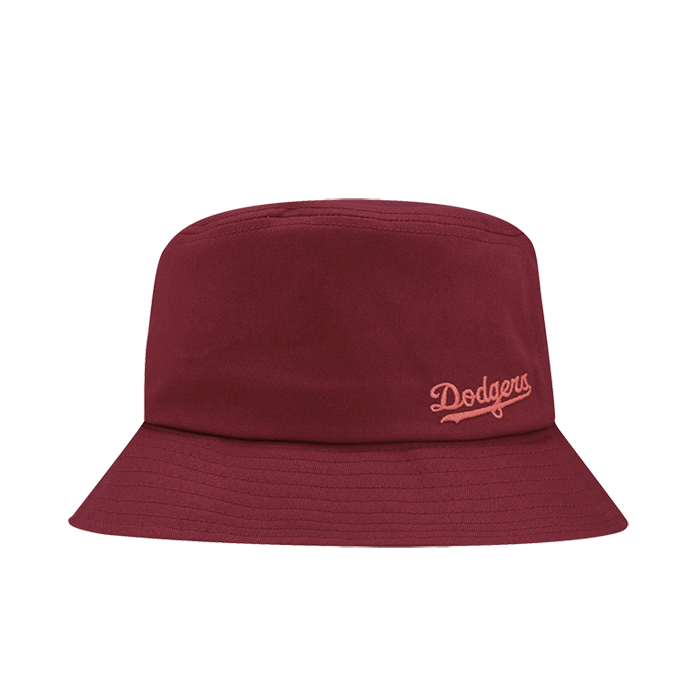 LA DODGERS SMALL CURSIVE BUCKET HAT