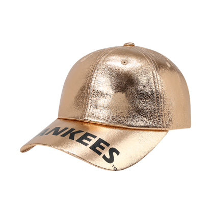 NEW YORK YANKEES WORDING GLITTERING BALL CAP