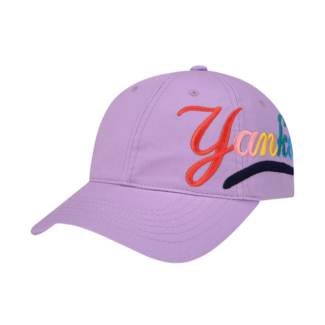 NEW YORK YANKEES RAINBOW BALL CAP