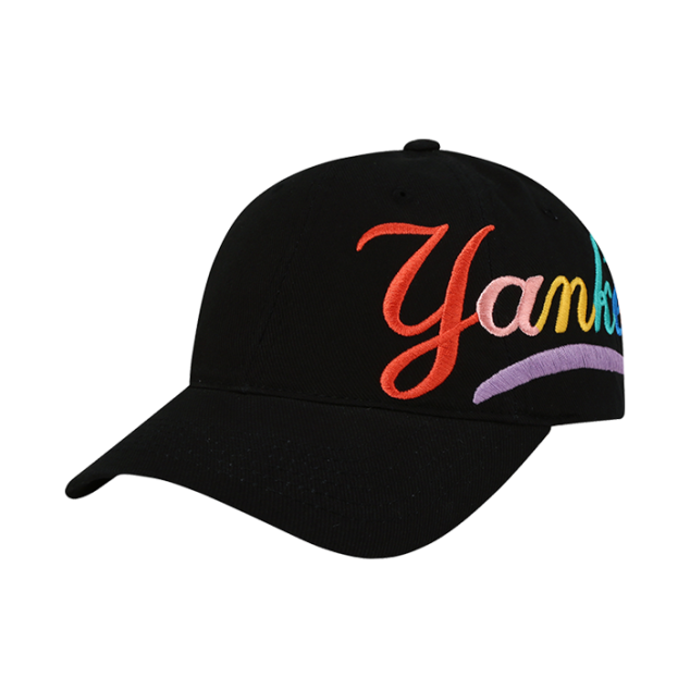 NEW YORK YANKEES RAINBOW BALL CAP