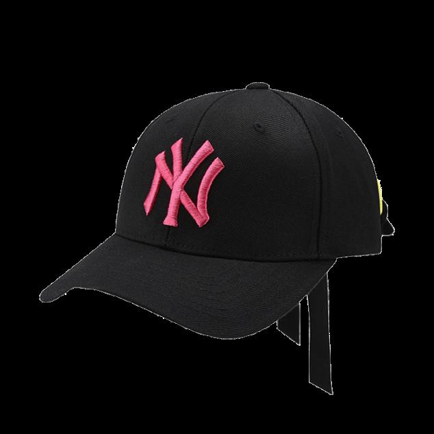 NEW YORK YANKEES COLOR EYELET RIBBON ADJUSTABLE HAT