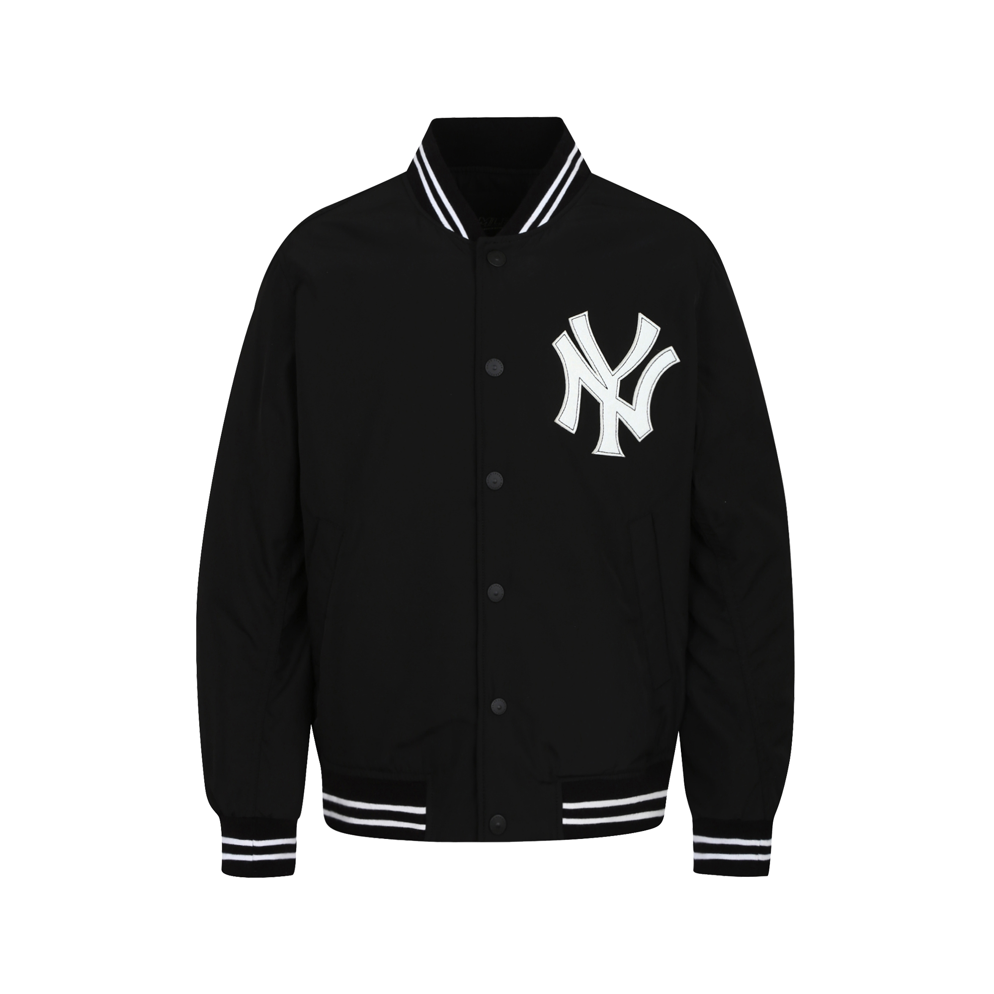 NEW YORK YANKEES BIG LOGO BASEBALL PADDED JACKET