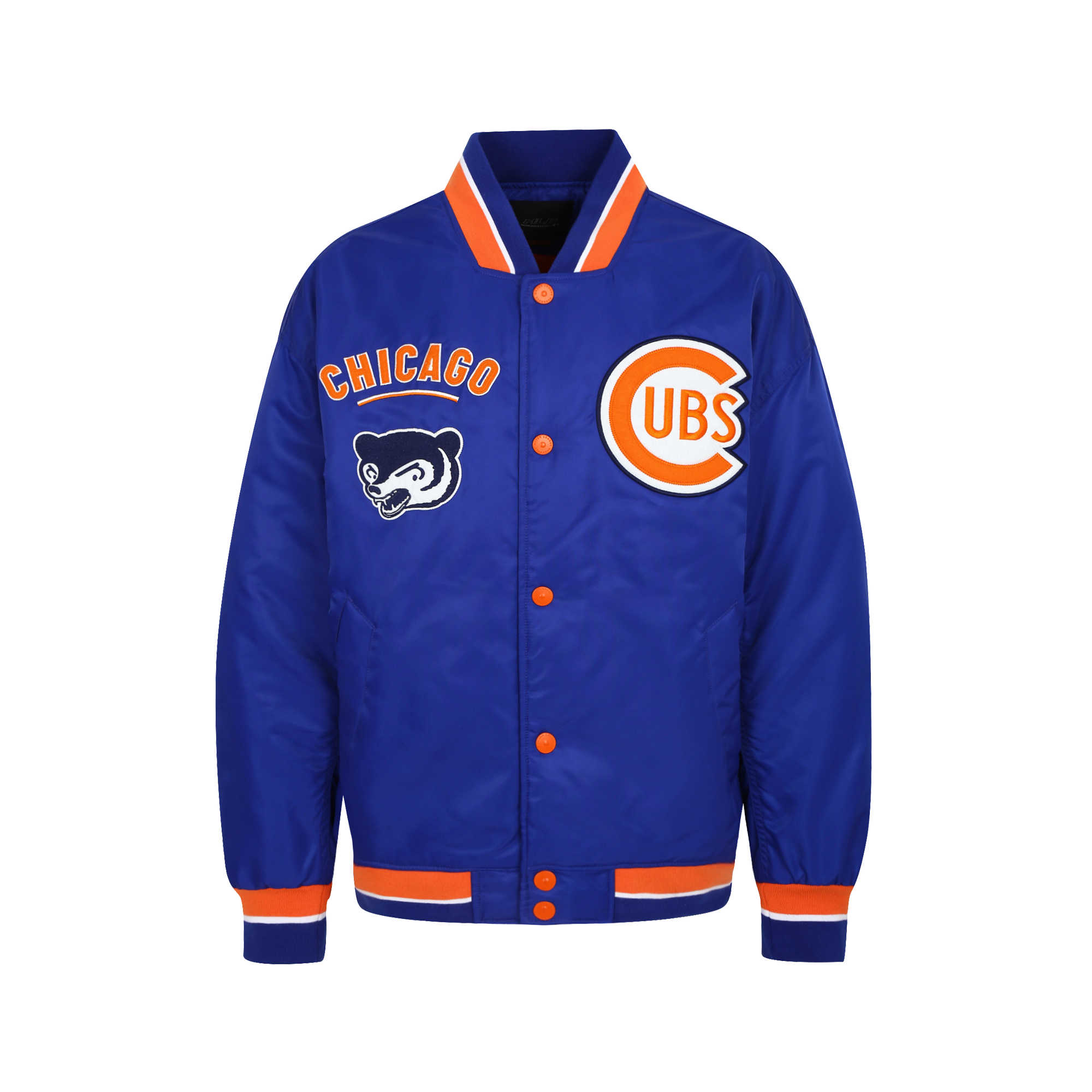 CHICAGO CUBS COOPERS PATCHWORK PADDING MONSTER JACKET