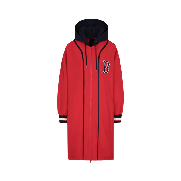 BOSTON RED SOX COOPERS LONG BASEBALL PADDED JACKET