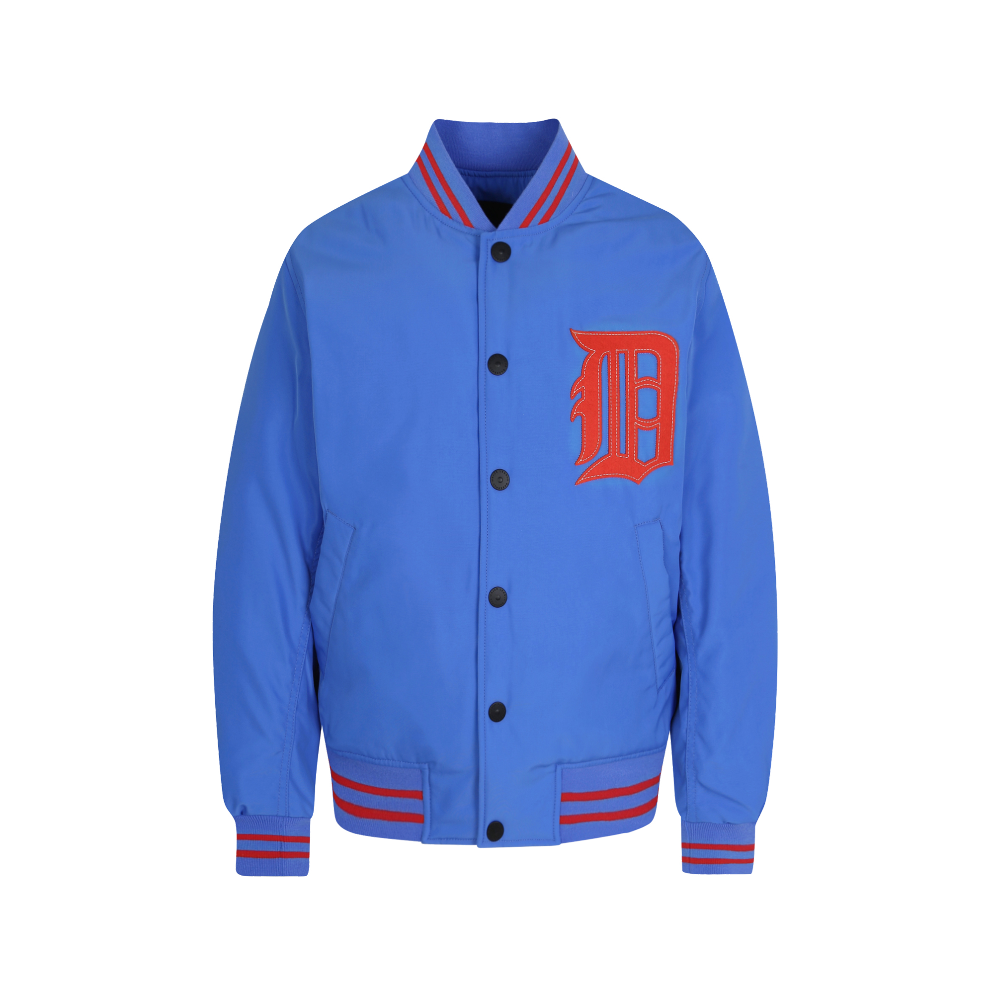 DETROIT TIGERS BIG LOGO BASEBALL PADDED JACKET