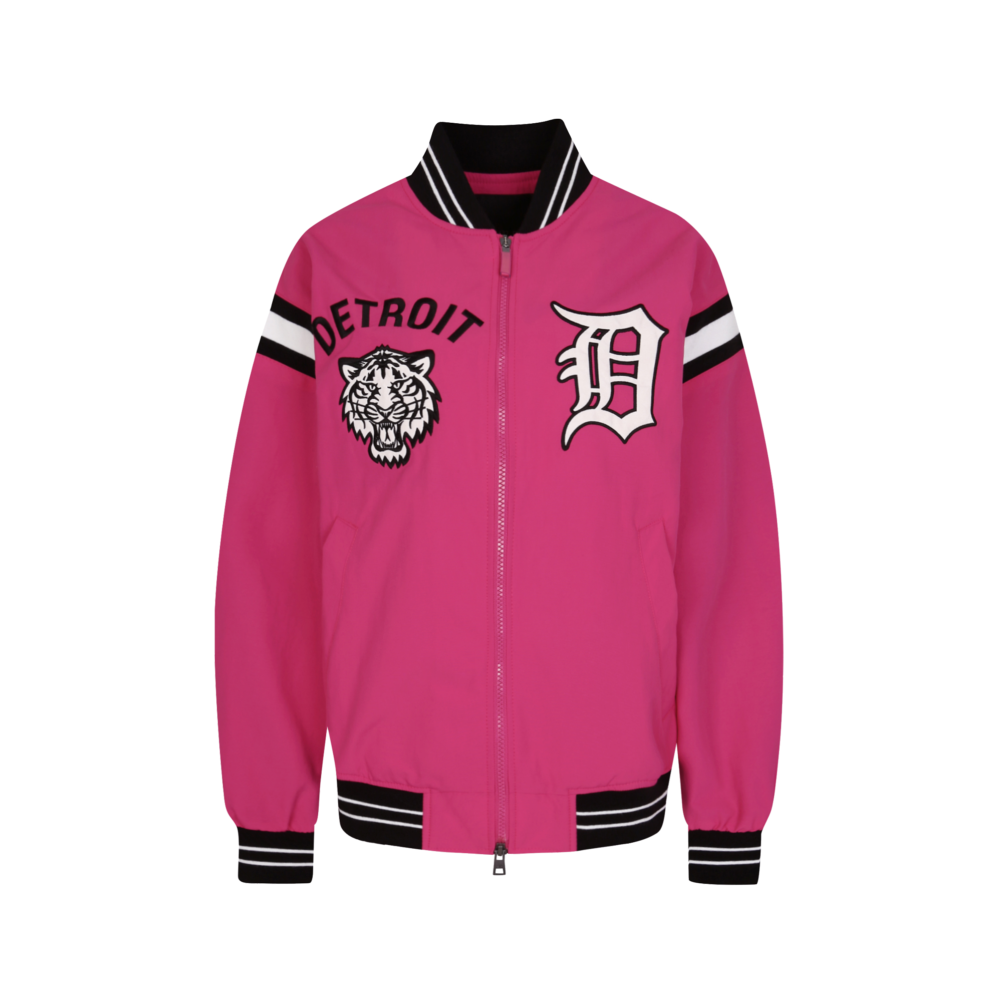 DETROIT TIGERS TIGER ANIMAL BASEBALL JUMPER