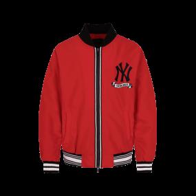 뉴욕양키스 아트웍 포인트 패딩 야구점퍼