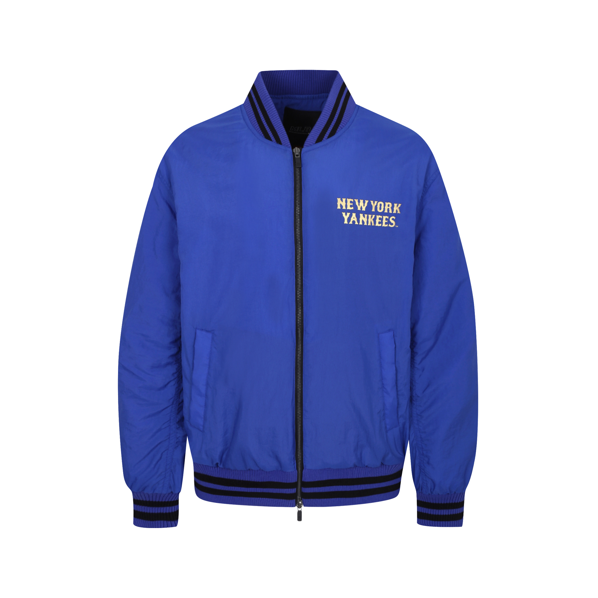 NEW YORK YANKEES FRAME PADDING VARSITY JACKET