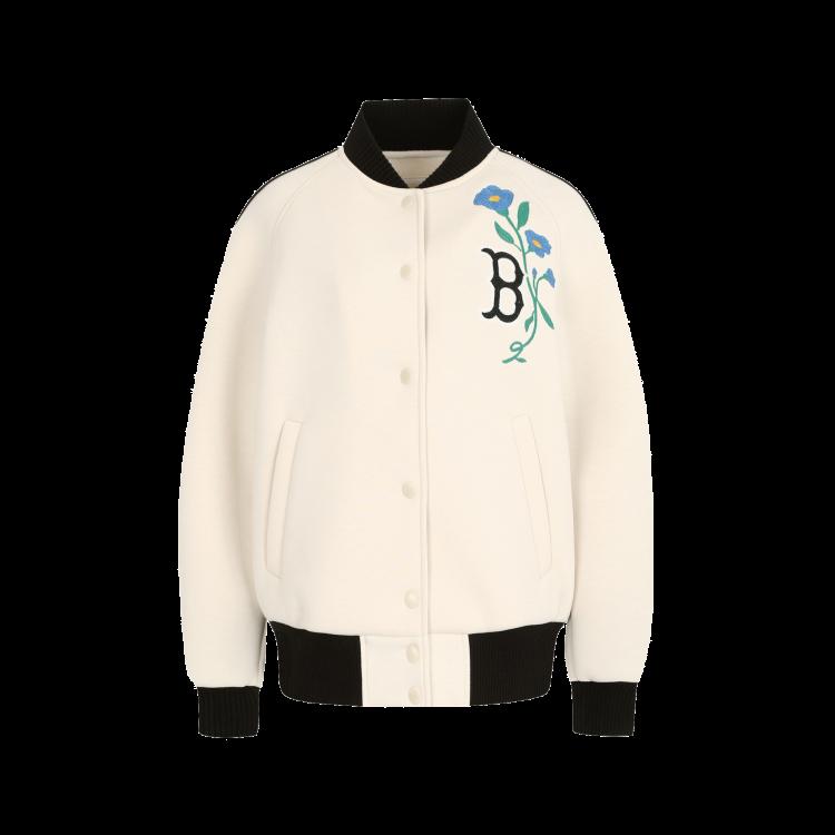 online store f09b2 81e77 BOSTON RED SOX FLOWER BASEBALL JUMPER | 31JPT5911-43I | MLB