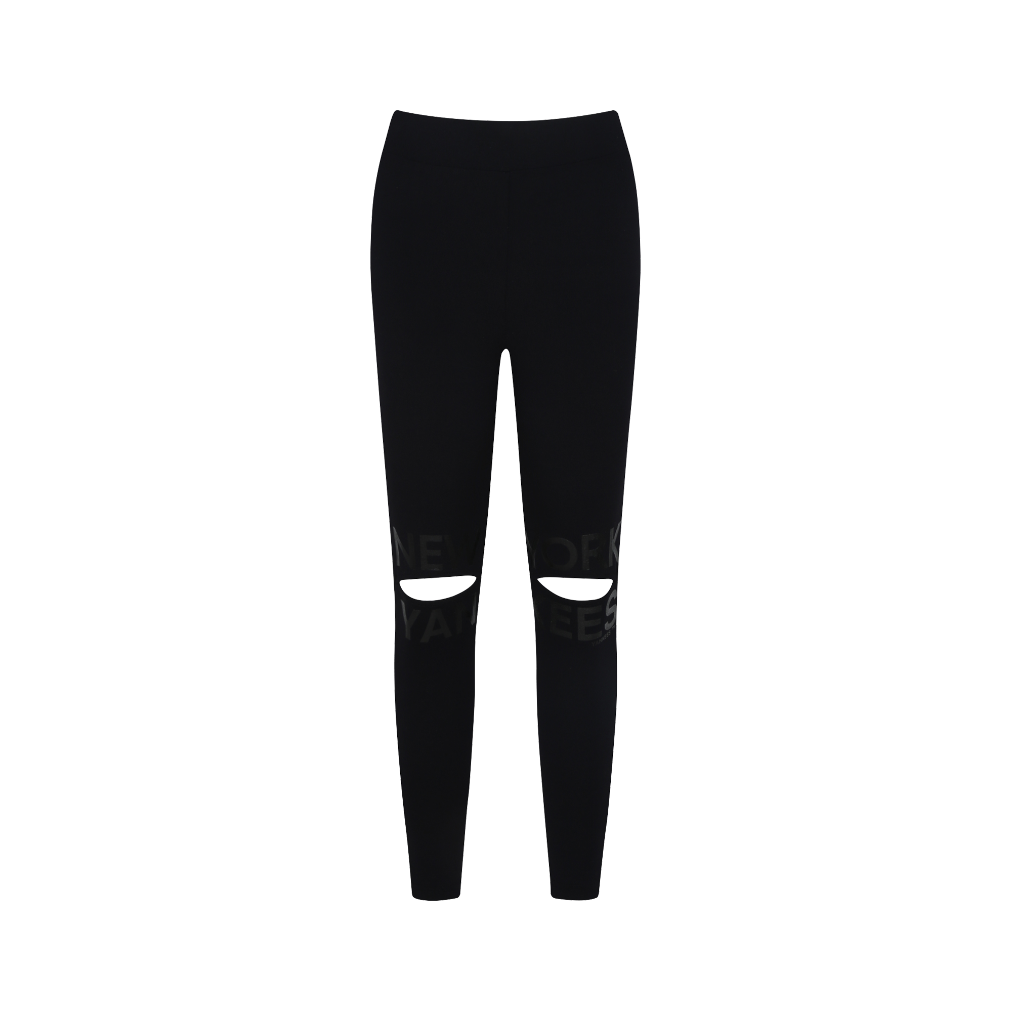 NEW YORK YANKEES KNEE CUT POINT LEGGINGS