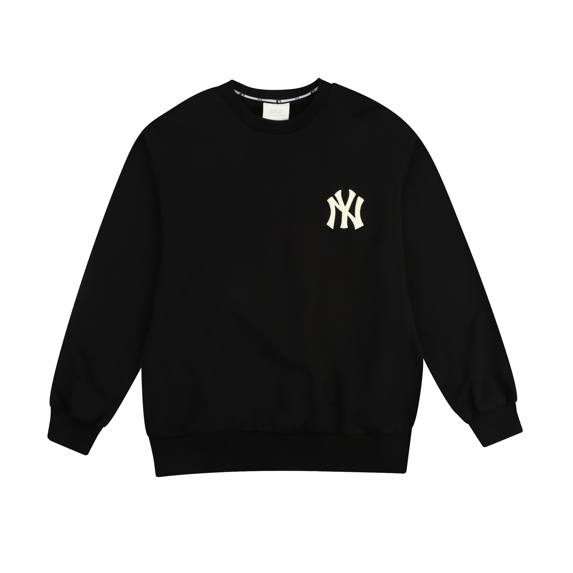 NEW YORK YANKEES OVERFIT SIMPLE LOGO SWEATSHIRT
