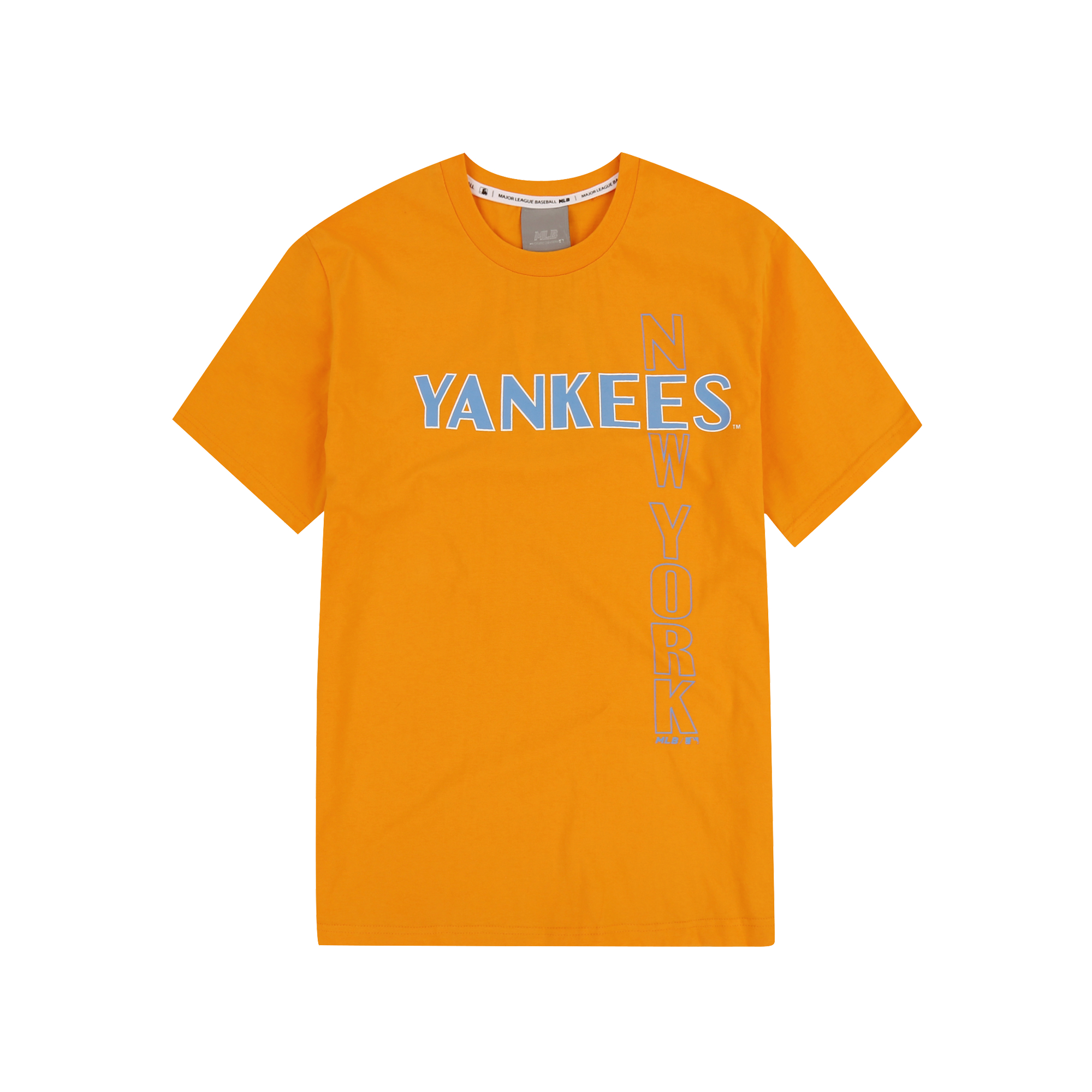 NEW YORK YANKEES CROSS LETTERING SHORT SLEEVE T-SHIRT