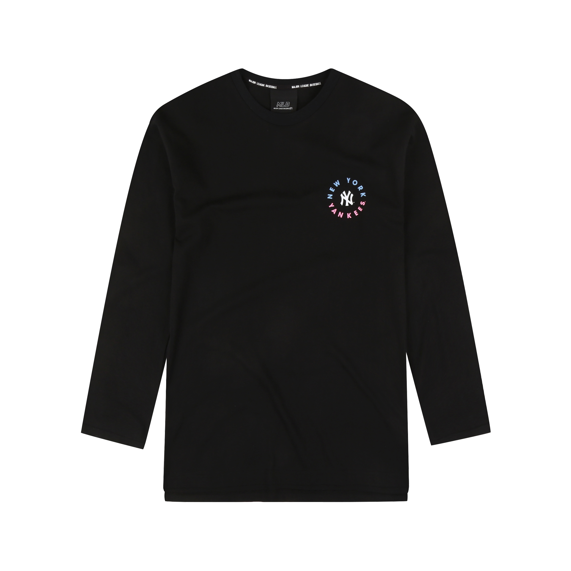 NEW YORK YANKEES O-RING GRAPHIC LONG SLEEVED T-SHIRT