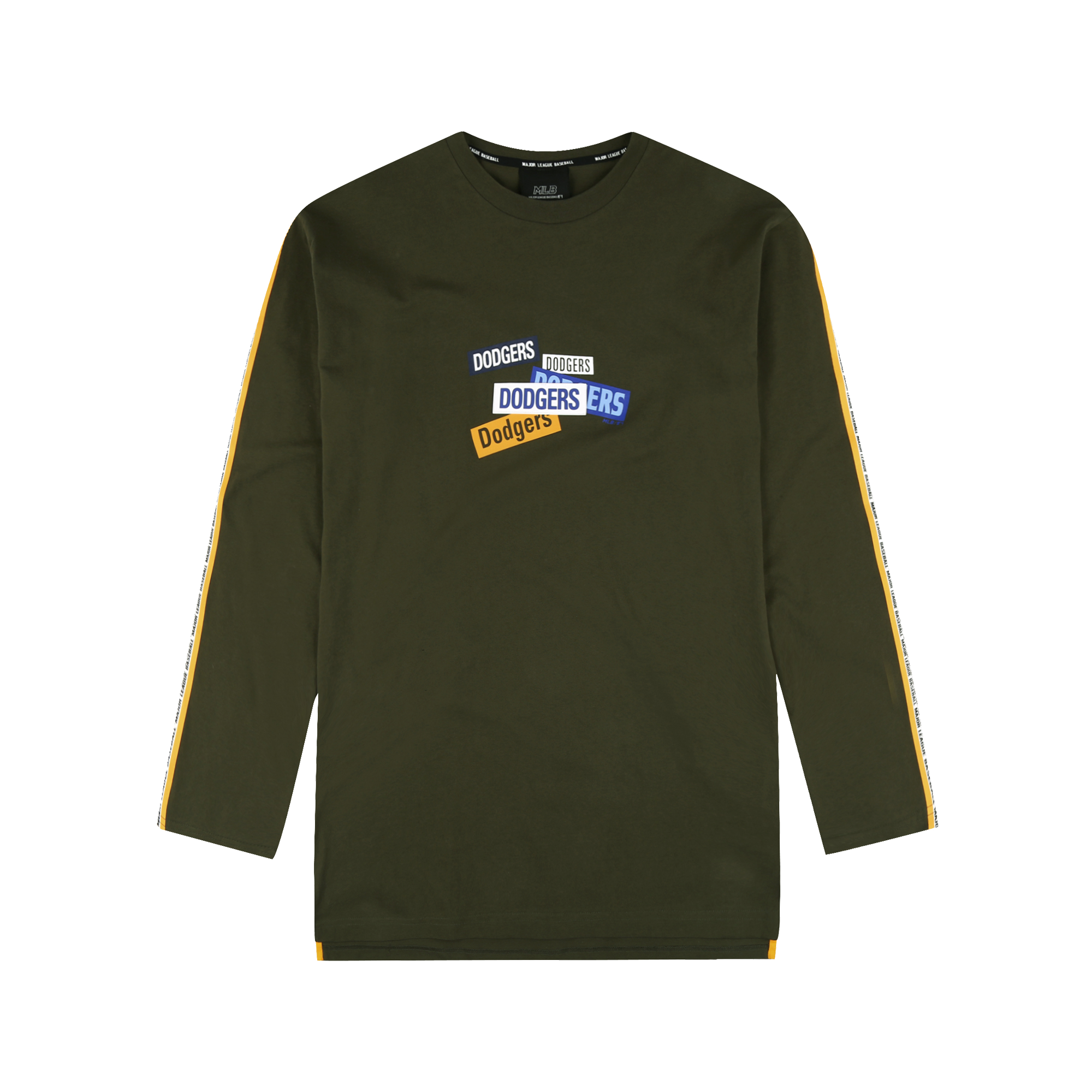 LA DODGERS STICKY NOTE LONG SLEEVED T-SHIRT