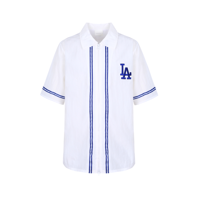 LA DODGERS ZIPPER PIPING SHIRT