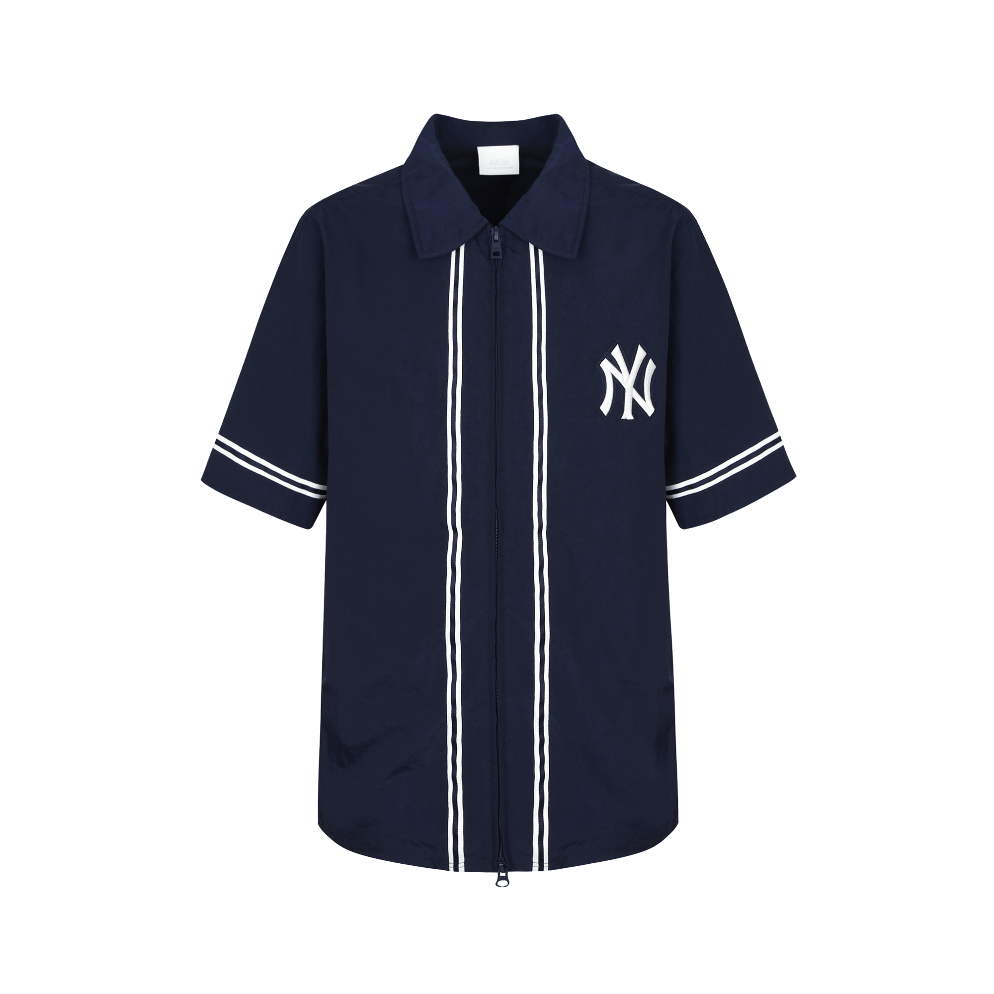 NEW YORK YANKEES ZIPPER PIPING SHIRT