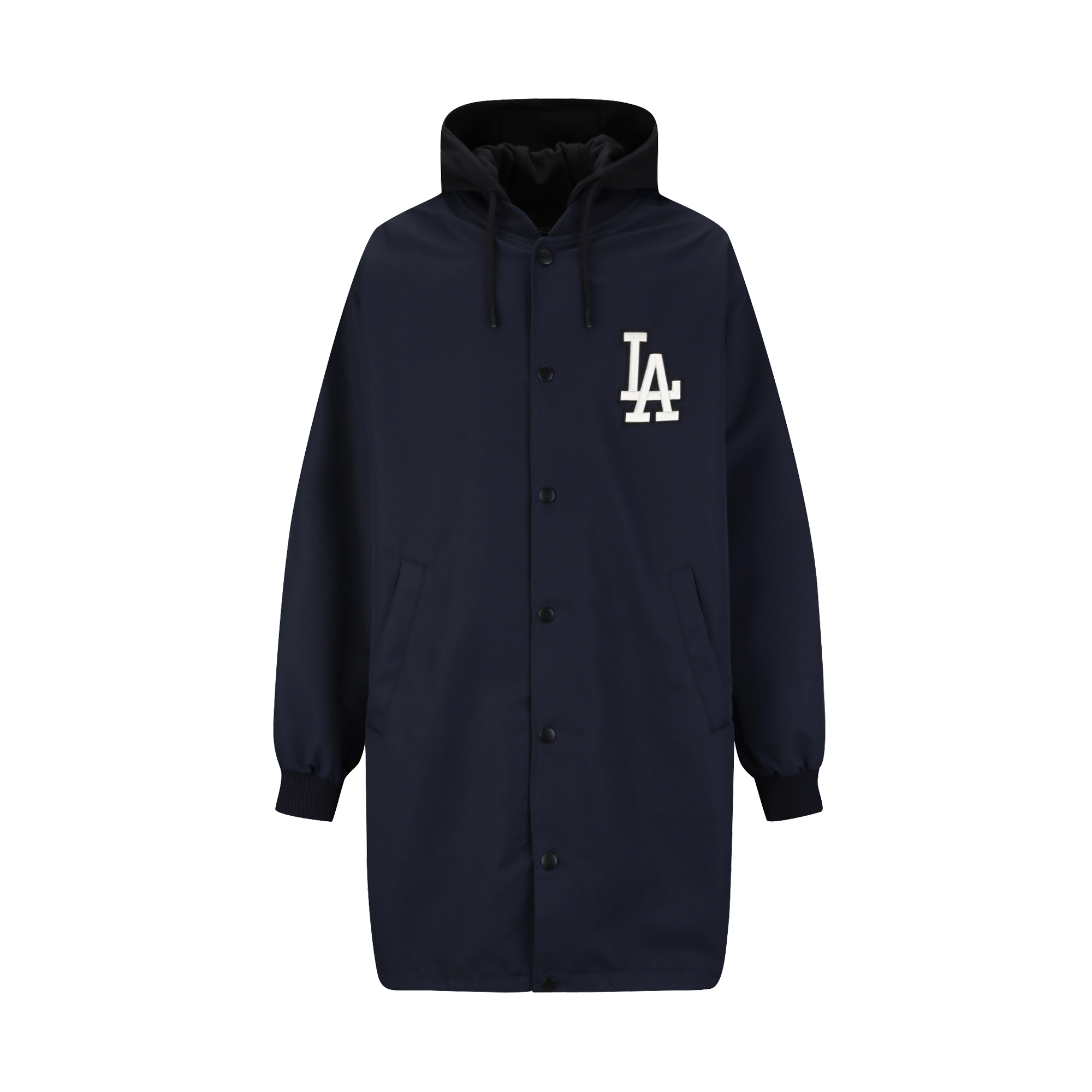 LA DODGERS BASIC LONG VARSITY JACKET