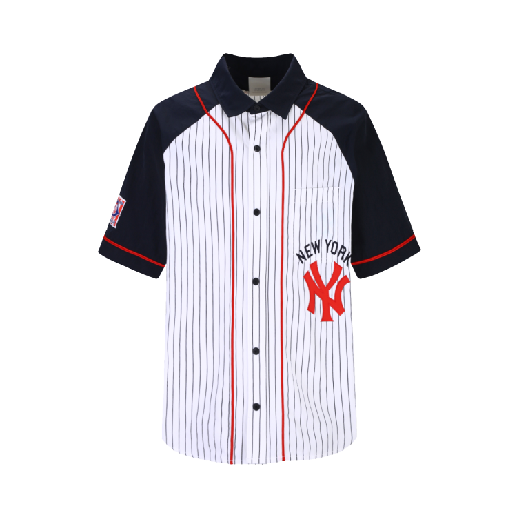 newest collection c34cd db21d NEW YORK YANKEES BASEBALL CLASSIC BICOLOR SHIRT | 31WSC2931 ...