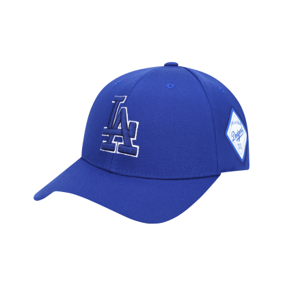 LA DODGERS DIAMOND ADJUSTABLE CAP