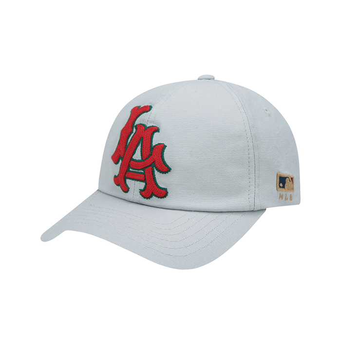 LA ANGELS CLASSIC MEGA LOGO BALL CAP (FLAT VISOR) - 2WAY