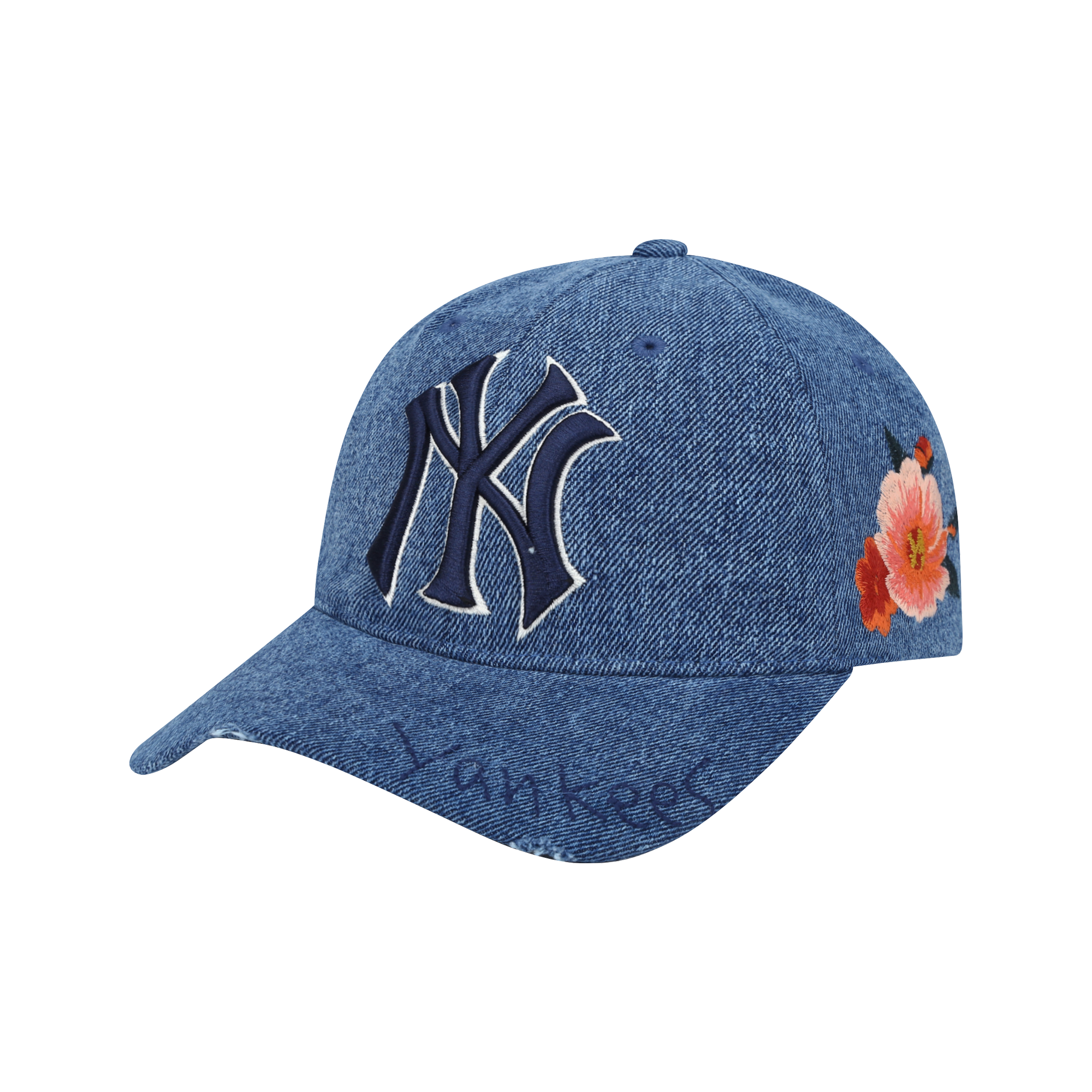 NEW YORK YANKEES ROSE GARDEN BALL CAP