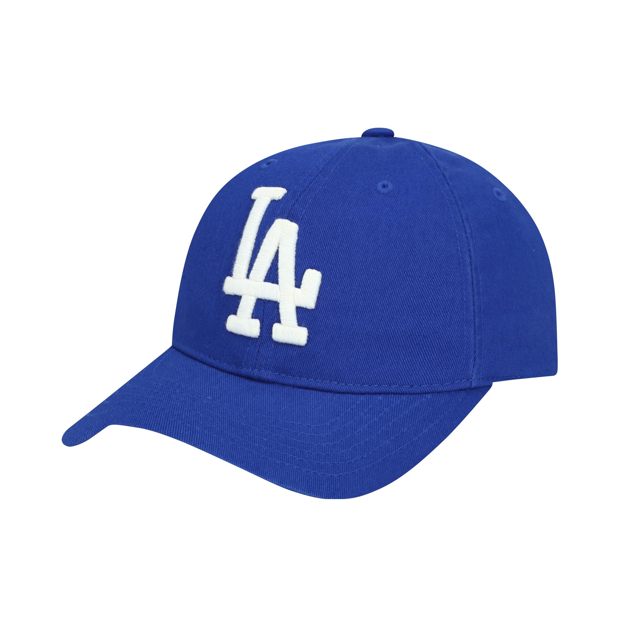 LA DODGERS SIDE CURSIVE BALL CAP