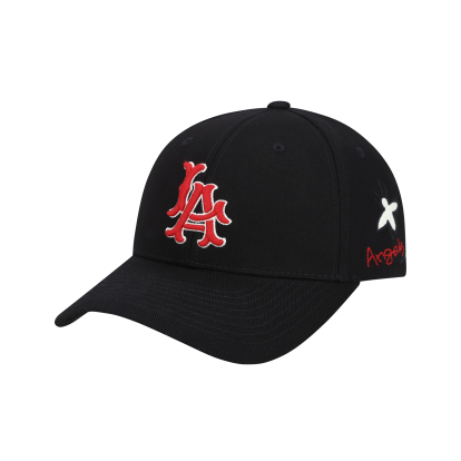 LA ANGELS ROSE BEE ADJUSTABLE CAP