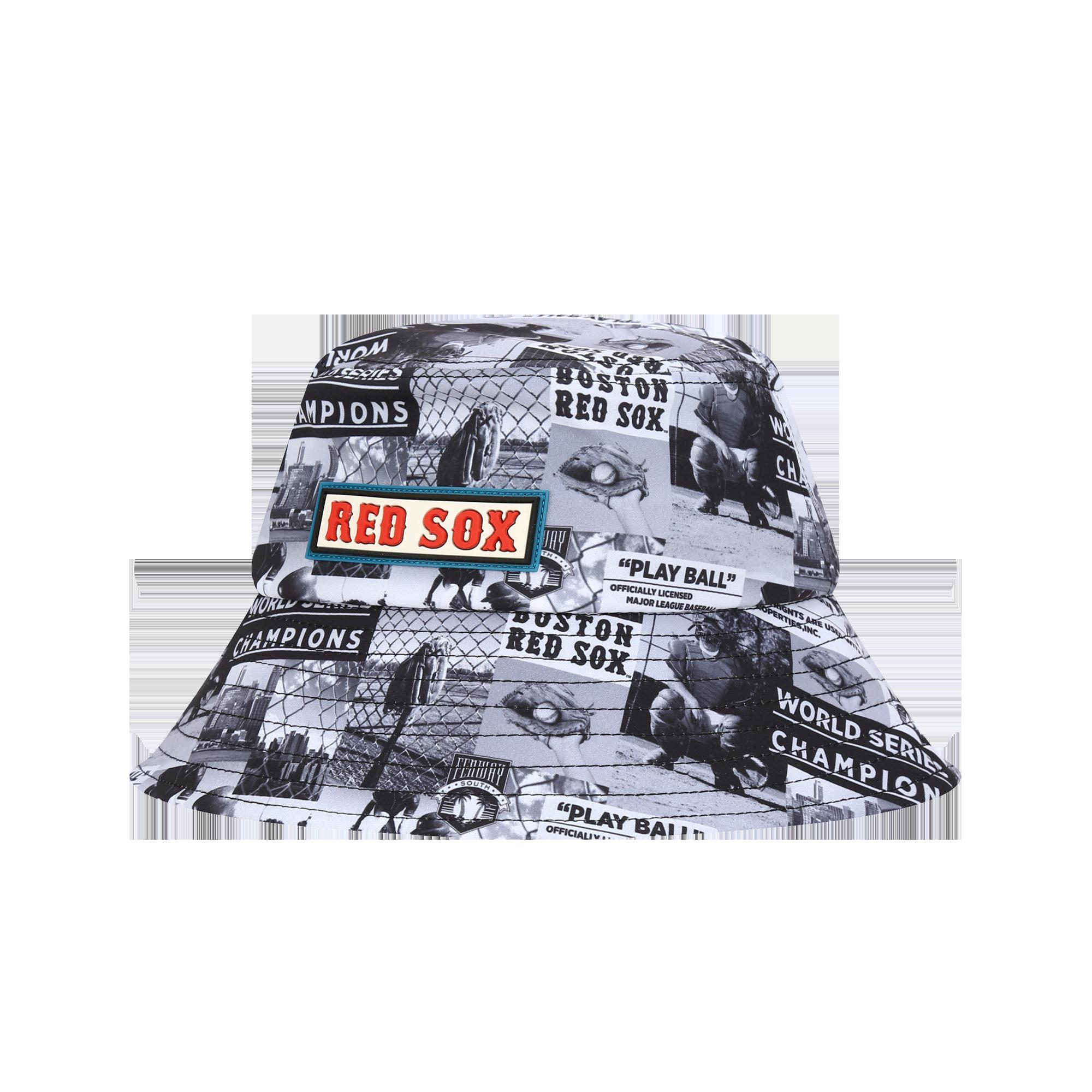 BOSTON RED SOX POST BUCKET HAT