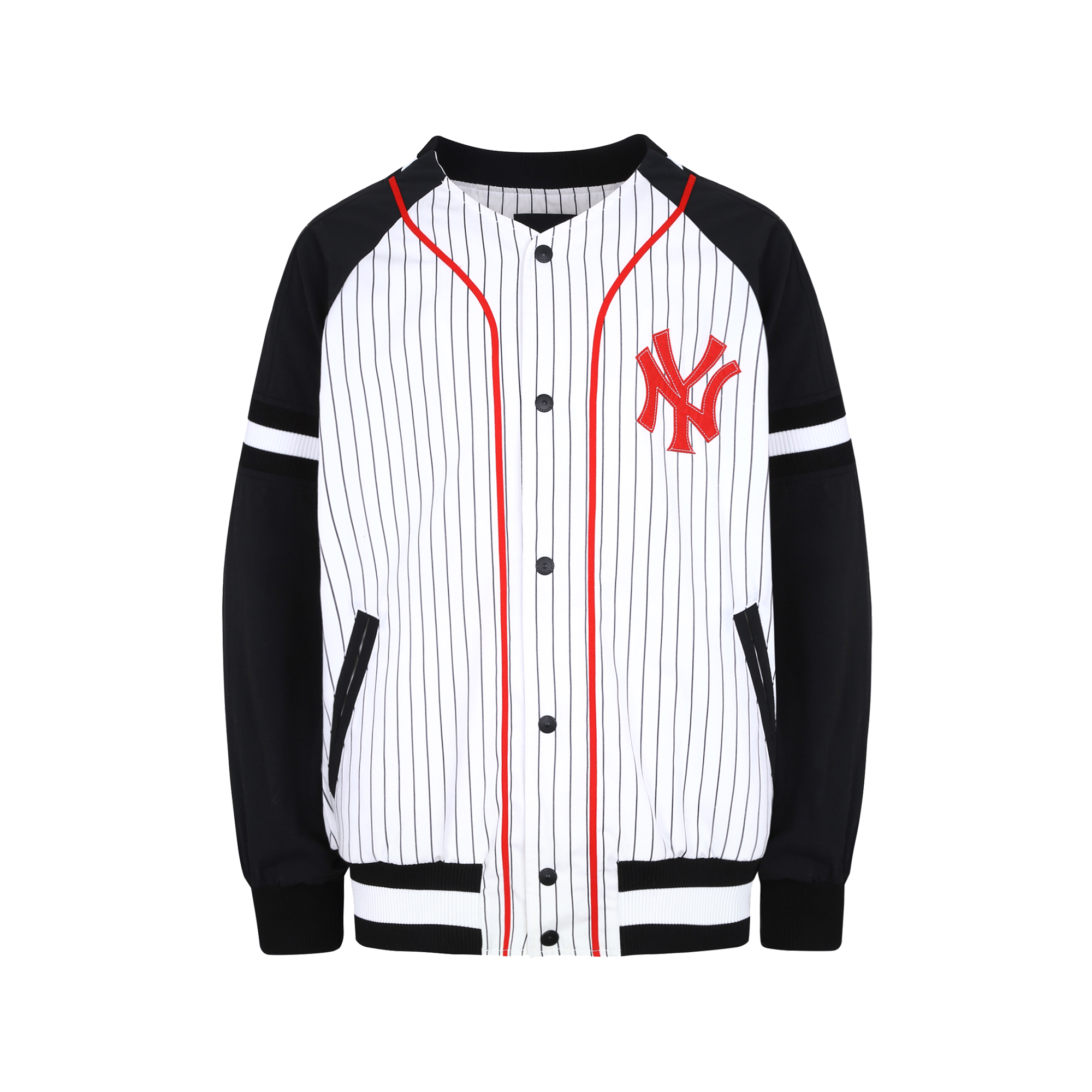 NEW YORK YANKEES COOPERS STRIPE BASEBALL JUMPER