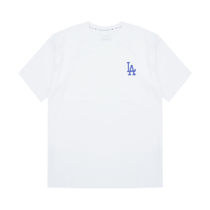 LA DODGERS LOGO POINT OVER FIT BASIC SHORT SLEEVE T-SHIRT