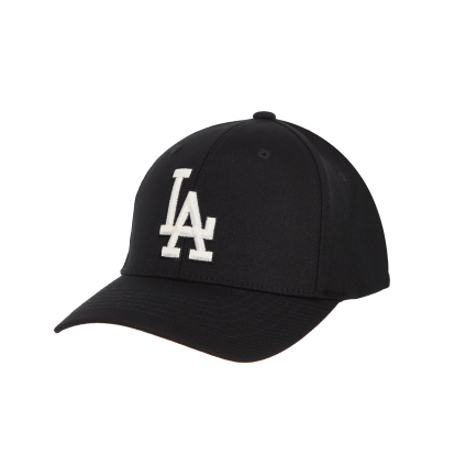 LA DODGERS BEHIND CURVED CAP