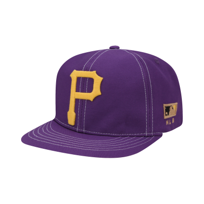 PITTSBURGH PIRATES COOPERS BIG APPLIQUE FLAT VISOR