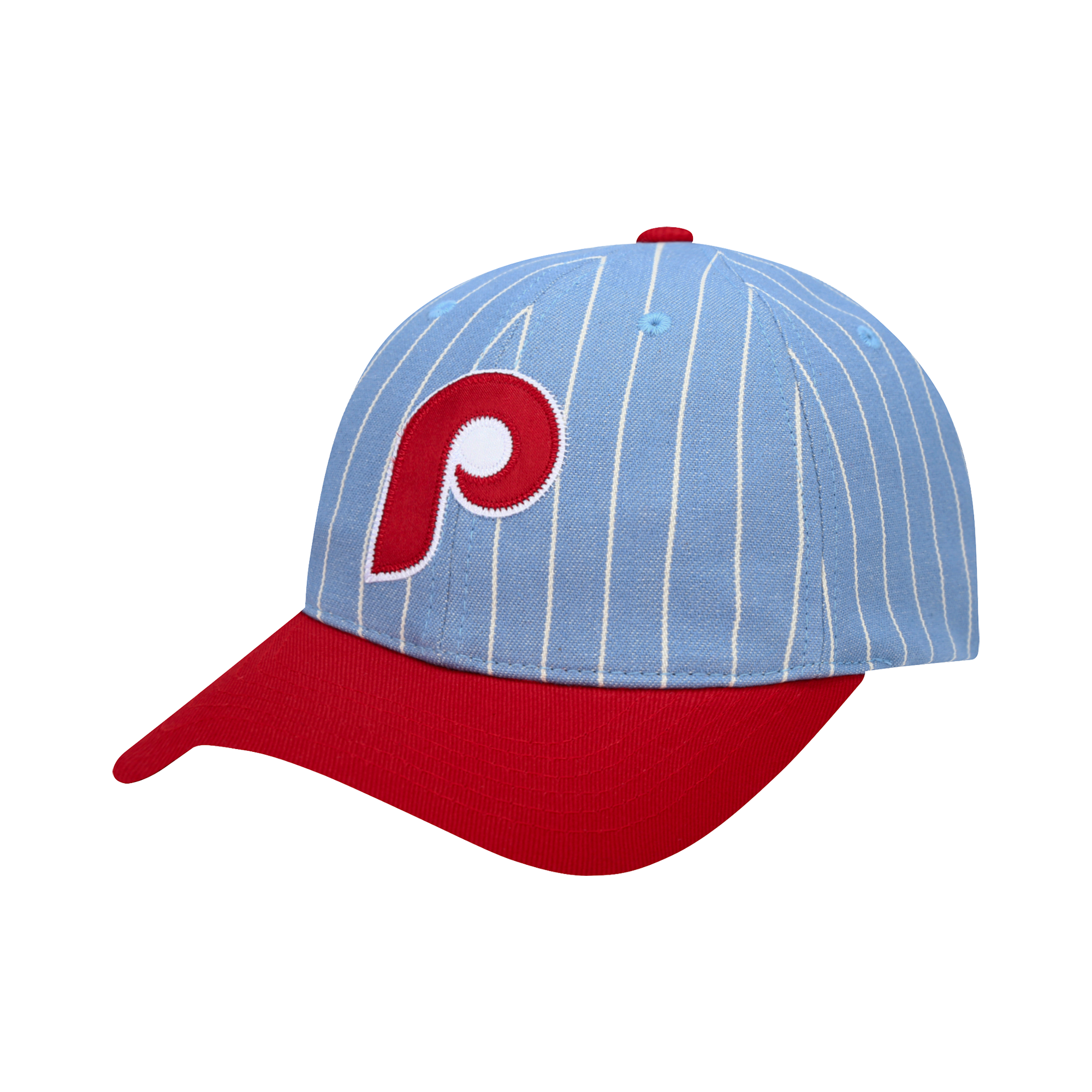 PHILADELPHIA PHILLIES COOPERS STRIPE JERSEY BALL CAP