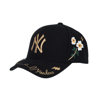NEW YORK YANKEES GOLD BEE ADJUSTABLE CAP